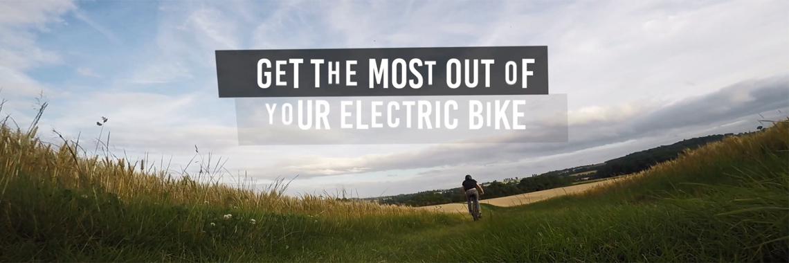Get the most out of your e-bike