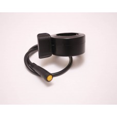 Twist thumb throttle, reversible, female connector, for Bafang